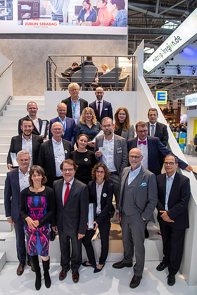 Gewinner_und_Jury des Immobilien-Marketing-Award 2019