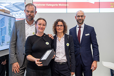 Immobilien-Marketing-Award 2019-Siege in der Kategorie Wohnen ist FRANK