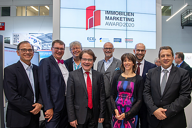 Die Jury des Immobilien-Marketing-Award 2019